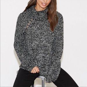 NWT Kendall & Kylie Cowl Neck Sweater Medium 106